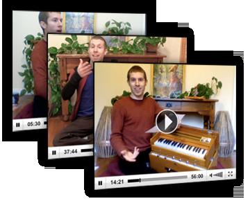 Harmonium class with Daniel Tucker