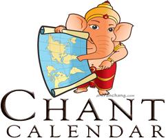 Kirtan Central Chant Calendar