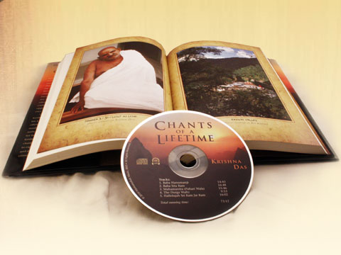 Chants of a Lifetime book and CD by Krishna Das