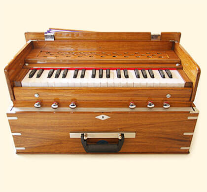 Bhava Classic Harmonium with Natural Finish