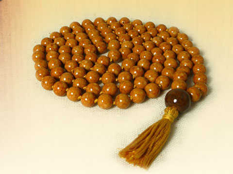 Gemstone Mala 1 by Pascale of Kirtan Path